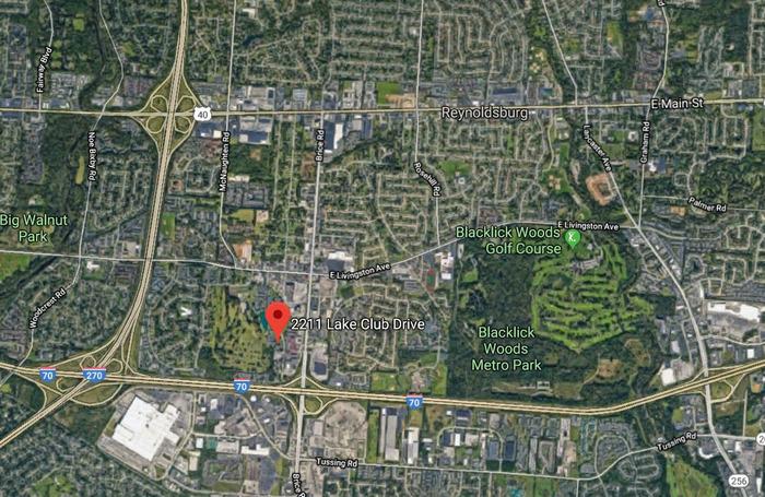 2211 Lake Club Dr Map