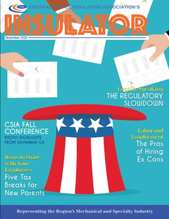 CSIA NOV2018 Newsletter Cover