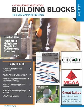 AUG21 OMA Newsletter Cover