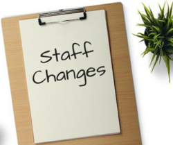The Plan Room Post - Staff Changes