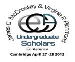 ECA 2012 Undergraduate Scholars Conference