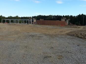 Astronomy Park construction