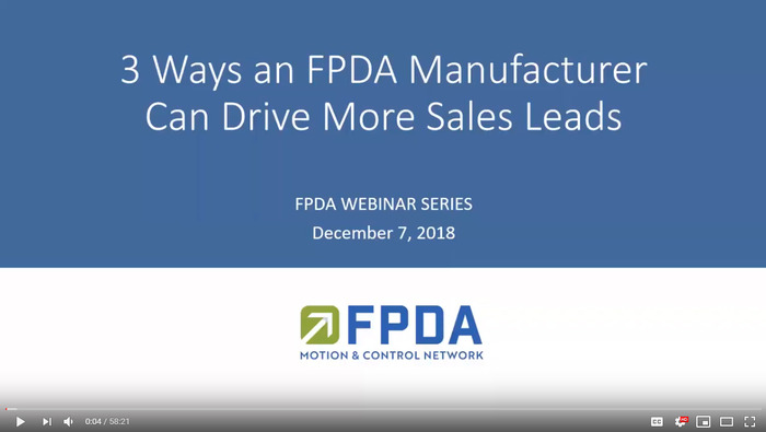 3 Ways an FPDA Manufacturer Can Drive More Sales Leads