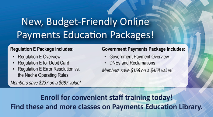 On-Demand Payments Training Packages