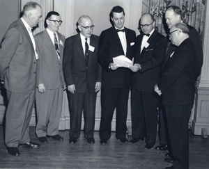 OAWA Founding Fathers reviewing charter