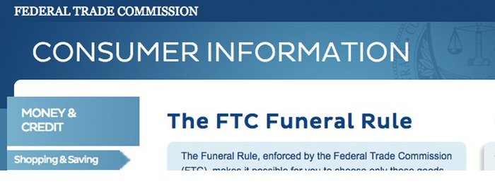 FTC Seeks Public Comment on Funeral Rule
