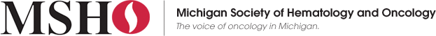 Michigan Society of Hematology and Oncology. Click logo