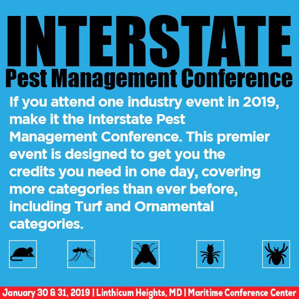 2019 Interstate Pest Management Conference