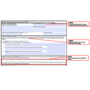 NPMA Revises the NPMA-33 Form, Has No Effect on Maryland