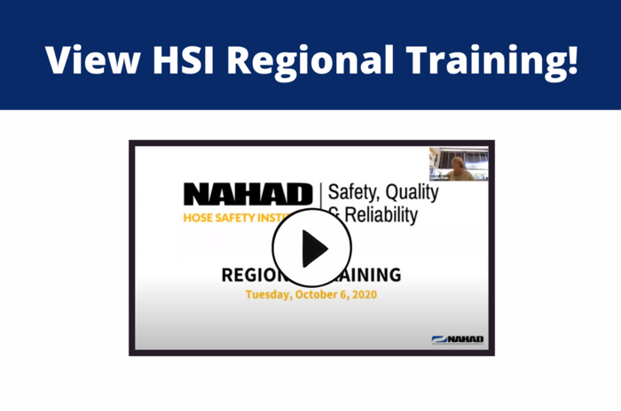 Did you miss this year's HSI Regional Training??
