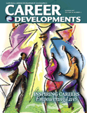 Cover of the Winter 2008 edition of Career Developments Magazine