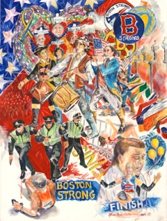 Boston Strong giclee