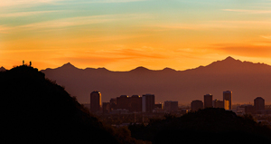 Copyright Visit Phoenixphotographer Credit Nick Cote Sunset Skyline