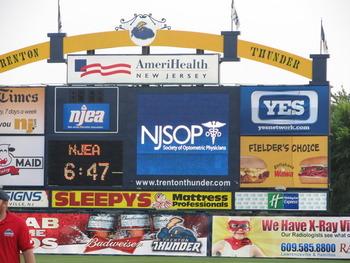 NJSOP at the Trenton Thunder