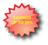 savings badge