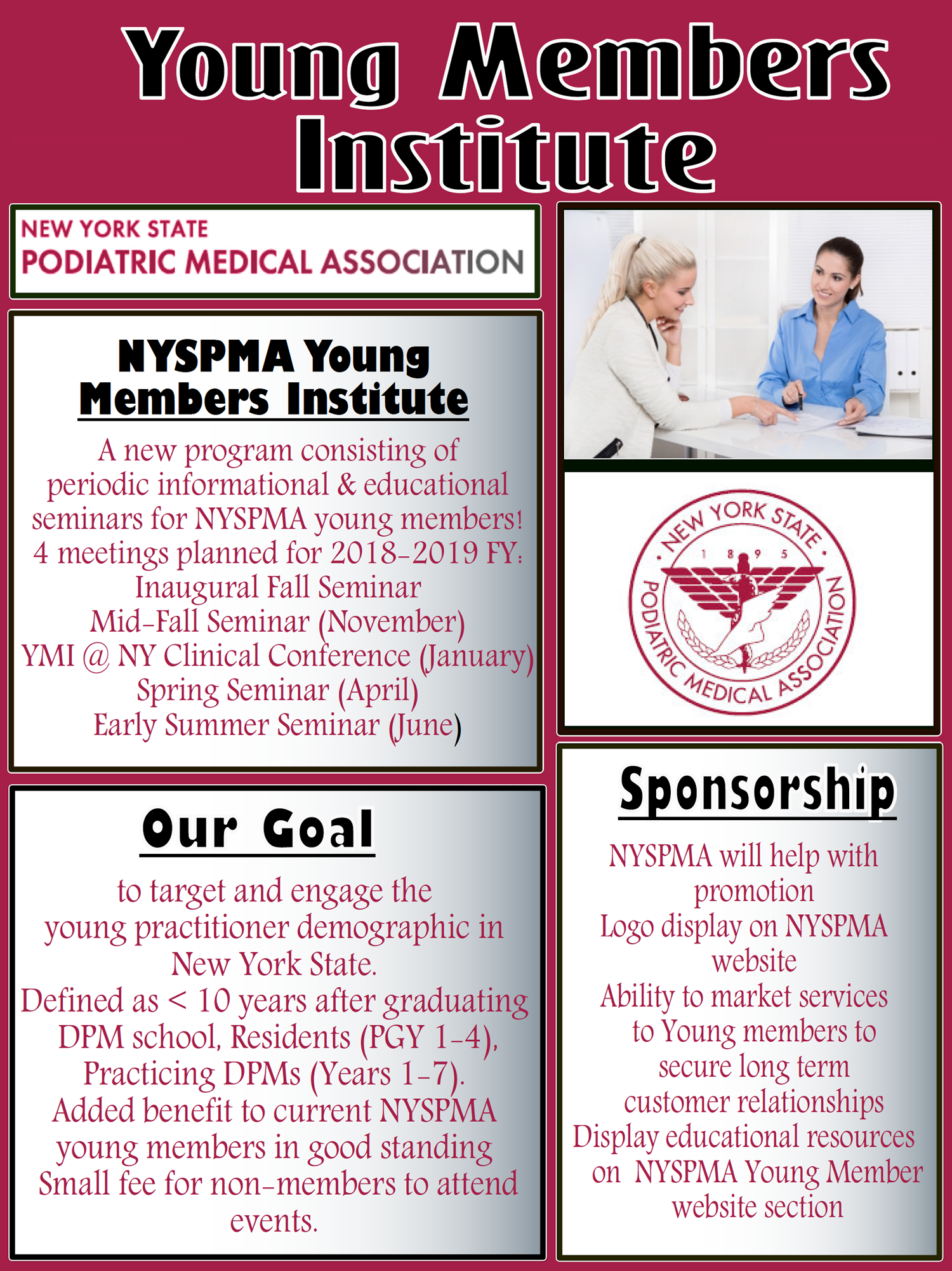 NYSPMA Young Member's Institute