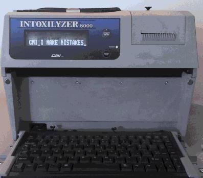 Intoxilyzer 8000 I Make Mistakes