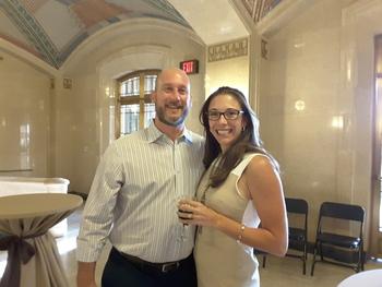 Jessica and Jay DVarga
