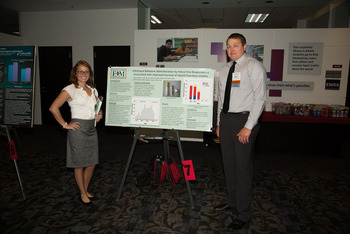 Residents at Poster Competition