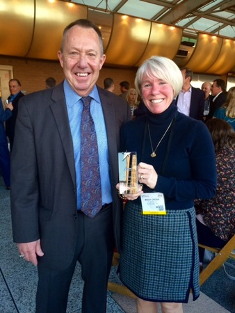 Missy Cross Receives AAHomecare Van MiIler Homecare Champion Award