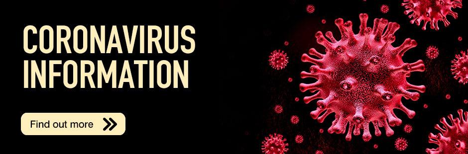 Coronavirus Banner