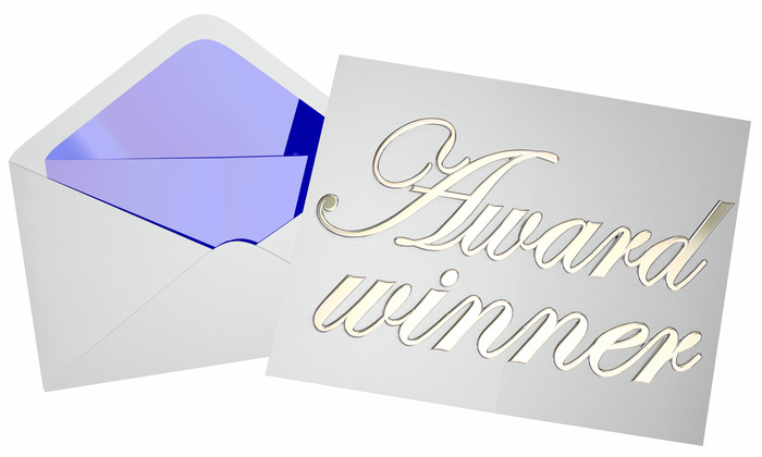 Award Winner Envelope Graphic