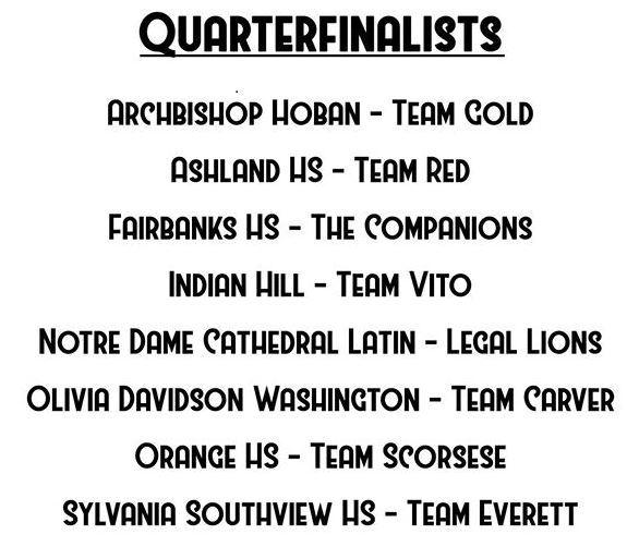 qtr finalists 2019