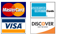 OCTA accepts Visa, MasterCard, American Express and Discover.