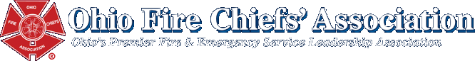 Ohio Fire Chiefs' Association. Click logo for home pa