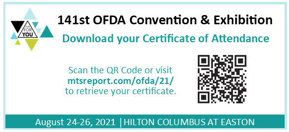 141st OFDA Convention & Exhibition