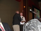 Tim Saunders receives Interity Award from Jerry Snodgrass