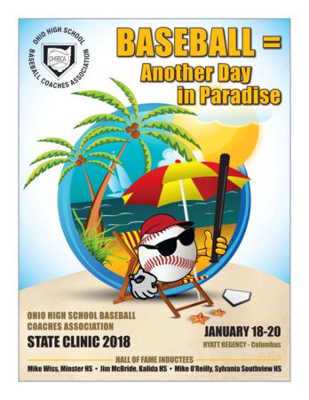 2018 Clinic Program Cover