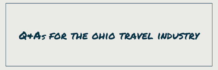 FAQs for the Ohio Travel Industry