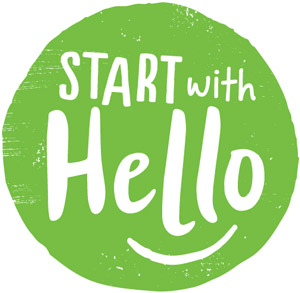 Start With Hello Logo