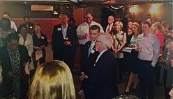 OOA Executive Director welcomes Rep. Fudge to the OU-HCOM Congressional Reception