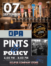 OPA Pints & Policy - September 7 2017