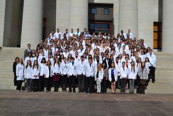 2016 OPA Legislative Day Students