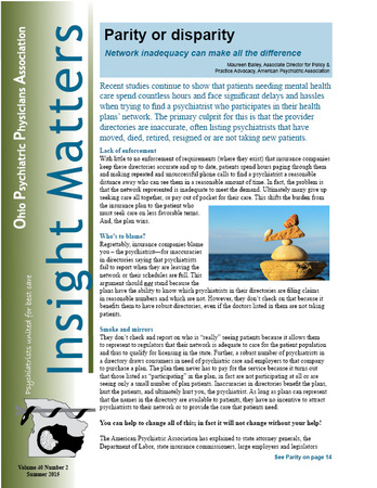 Insight Matters Summer 2015 front cover