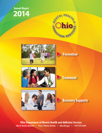 OhioMHAS SFY Annual Report Cover