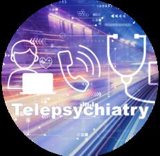 Website Telepsychiatry Button