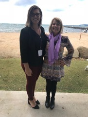 Dr. Tiffany Dykstra-DeVette and Danielle Biss at WSCA Conference in Seattle WA in February 2019