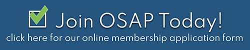 Join OSAE Today! Click here for our online membership application.