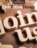 Executives News Fall 2019 Cover