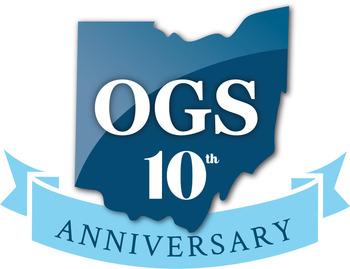 OGS 10-year logo