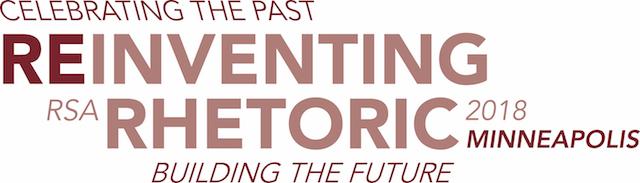 Rhetoric Society of America. Click logo for home page.