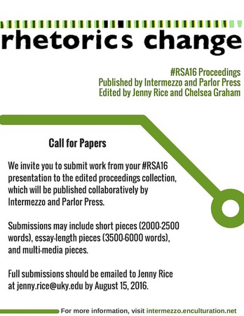 2016 Proceedings Rhetoric Change