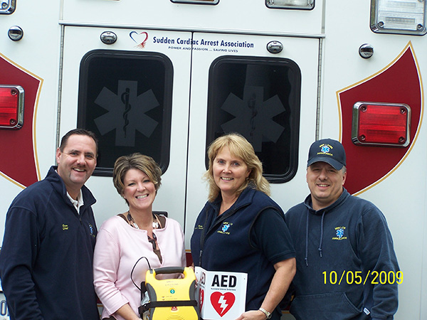 Western Maine AED Donation Event 100709 #3
