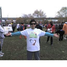 Martha Ferrara at the ING New York City Marathon