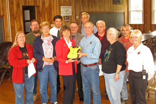 AED Presentation to Hunt Twp
