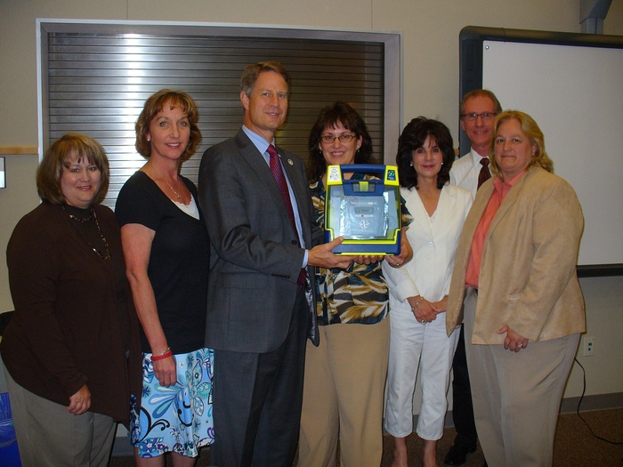 Gilbert AED Donation April 2011